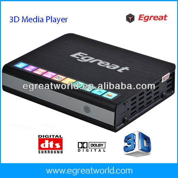 1080p Blu-ray MKV Network USB 3.0 Wifi HDMI TV Media Player R6AII