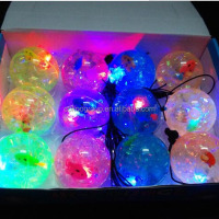 2015 new kids toys 6.5cm magic flashing light bouncing ball toy new kids products toys for 2015