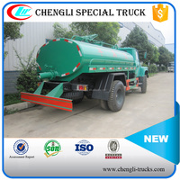 140hp 4*2 DONGFENG Tip Head 6m3 Fecal Suction Tank Truck