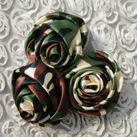 colorful and beautiful stain ribbon flowers/bows