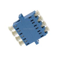 Best Price Blue Single Mode Adapter LC Quad