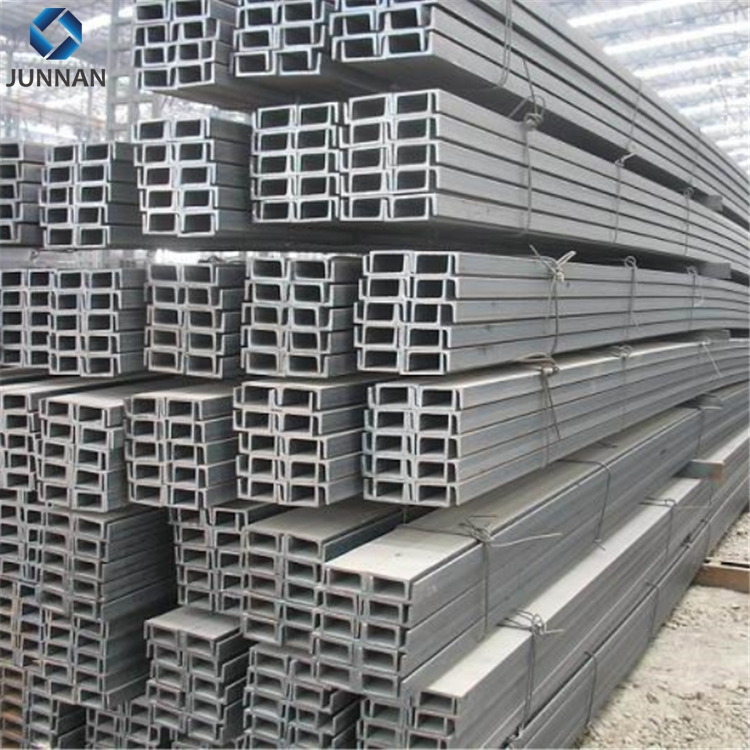 Q235B China Tangshan building construction hot rolled u channel steel sizes