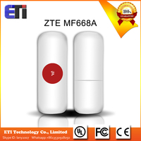 Original ZTE MF668A 3g wireless internet card 3G USB Modem and 3G dongle Data Card 21Mbps 850MHZ/1900MHZ/2100MHZ Original ZTE M