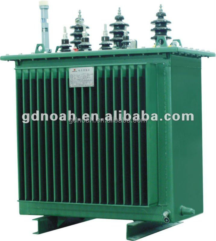 S11-(M)-1000 Immersed 1000KVA 10KV grade double winding excitation voltage power plant transformer