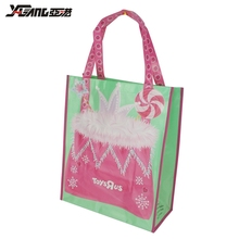 Good Quality Waterproof Top White Shopper Reusable Glossy Laminated Shopping Non Woven Bag