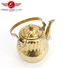Hot Selling Eco-friendly Stainless Steel Tea pot/kettle/coffee pot with tea strainer