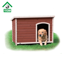 Creative Design Chinese fir painted wooden dog kennel
