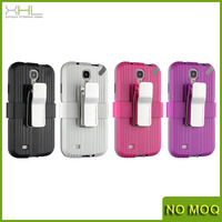 New product trunk shockproof belt clip stand case for samsung galaxy s4 i9500