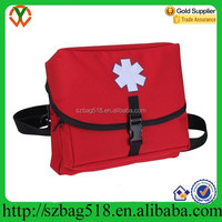 Emergency Rescue with 3 Zippered Compartments nylon car medical first aid kit