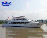 50Seats Fibergalss Passenger Tour Boats for sale, Used Ferry Boat, Used Crew Boat