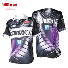 Wholesale motorcycle team quarter zipper racing shirts OEM