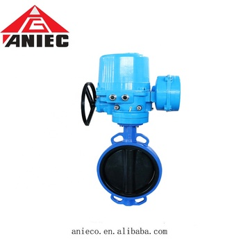 wholesale price low pressure EPDM seal electric butterfly valve