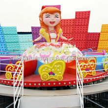 Cute theme park games children garden swing for sale