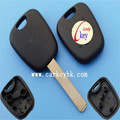 Good price Non folding Peugeot 307 transponder key shell without groove blade