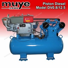 piston diesel air compressor minimize vibration DV1.05/12.5
