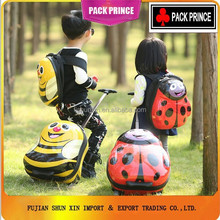 Lovely print ABS PC trolley school bags boys China Supplier