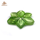 Fashion Jewelry Green DIY Rhombus Chamilia Beads For Necklace And Bracelet