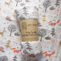 muslin organic cotton baby swaddle blanket bamboo baby blanket