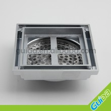 Ningbo China Supplier Tile insert square floor waste grate bathroom shower drain to suit 100mm drain