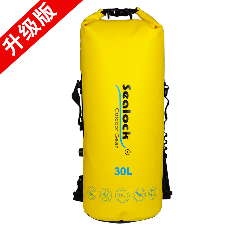Wholesale lightly weight with ODM OEM factory price Waterproof Outdoor sport kayaking dry bag for Shoulder Men's