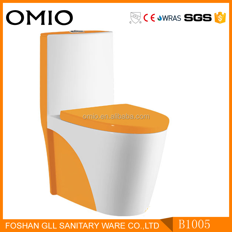 Chaozhou one piece washdown S trap types of water closet