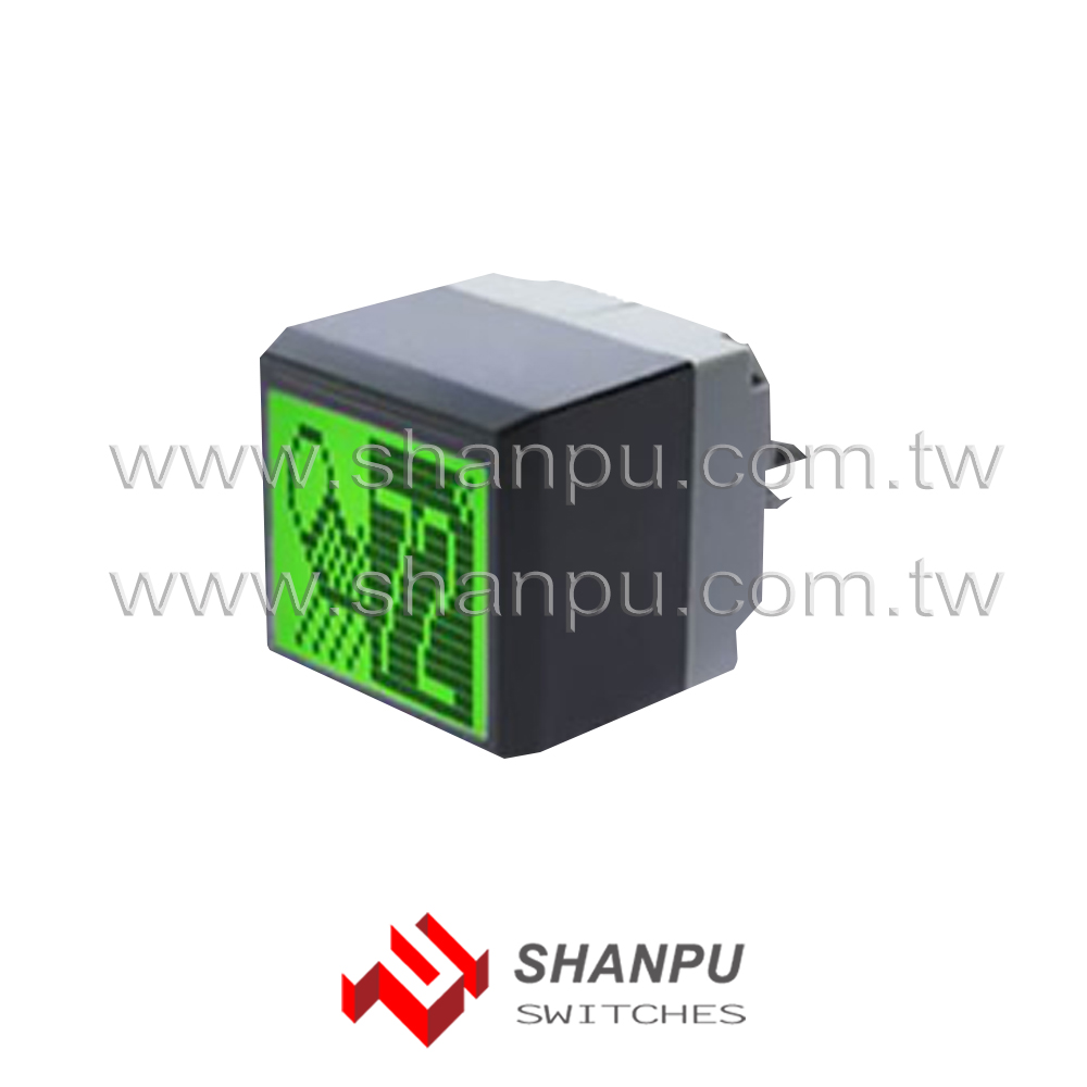 Taiwan Smart Programmable LCD Push Button Switch for Medical Equip Machine Controller