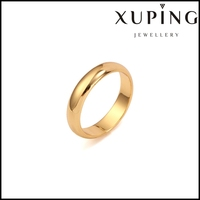 Xuping Fashion 18K gold color o ring Jewelry 13635