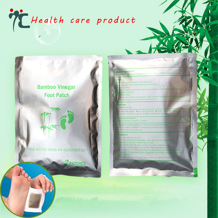 ZHIZIN Soothing fatigue keep health bamboo vinegar detox foot patch
