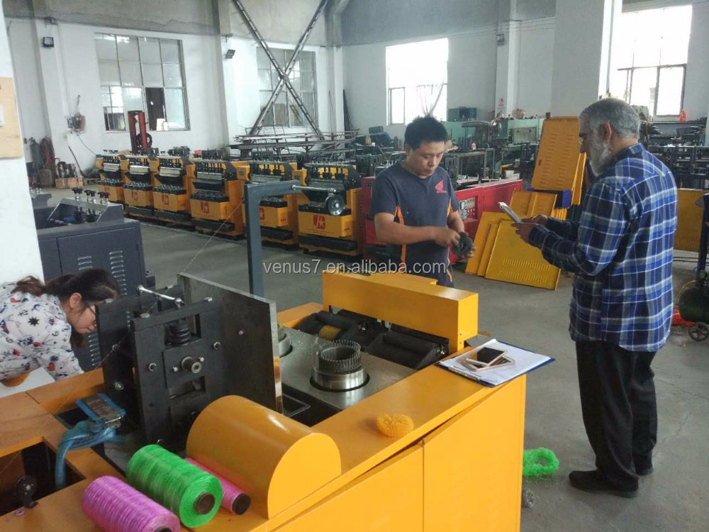 JX-A6 Steel Wool Good Metallic Clean Ball Spiral scourer making machine