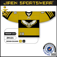 european sublimated Custom Cheap Practice sublimation ice hockey jersey size 7xl