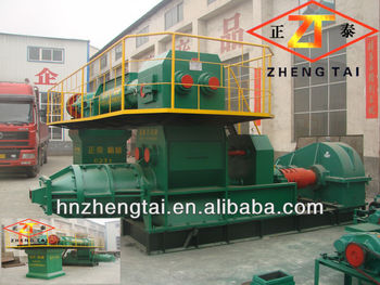 Popular manual brick making machine sell in philippines! clay brick machinery for clay China clay brick machinery factory