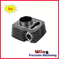 A380 aluminum alloy die casting plant custome made motorcycle parts