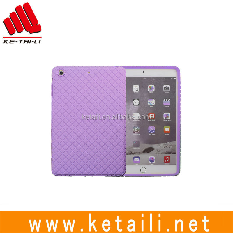 For iPad mini 3 Custom Silicone Tablet Protective Case Supplier