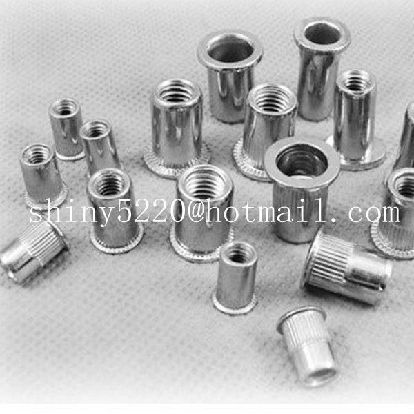 rivet nut m3-m13 aluminum thin sheet furniture insert nuts for wood made in China