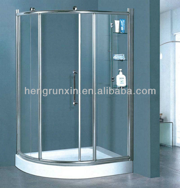 Tempered Glass Corner Shower Encloser