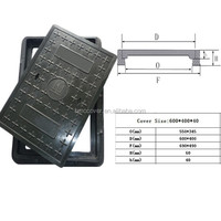 Drawing square FRP plastic cable trench cover provide by China