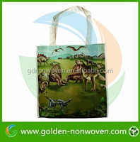Animal Printing PP Nonwoven Shopping Bag, PP Nonwoven Foldable Bag