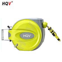 10m retractable garden water hose reel