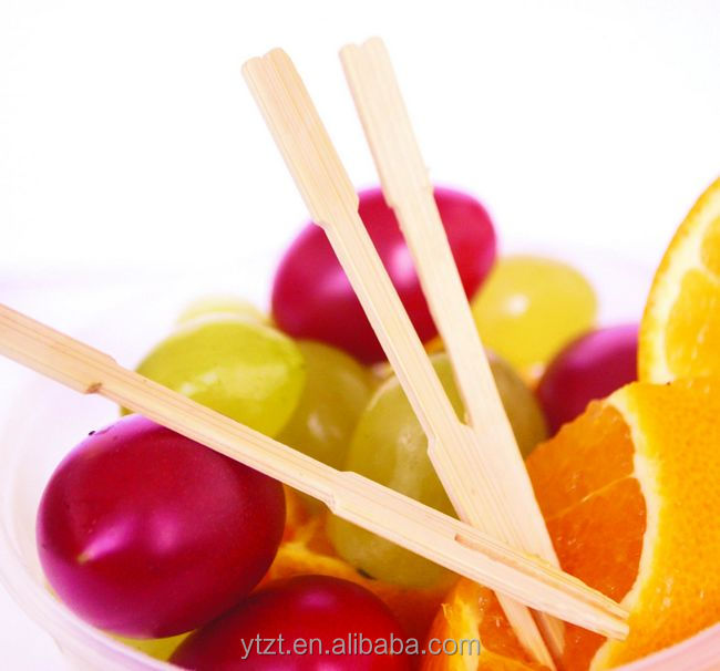 food grade bamboo fruit sticks for easter