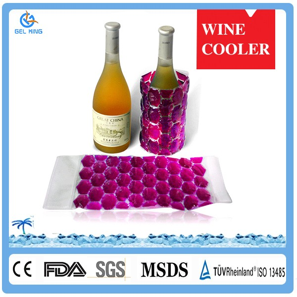 Plastic Single Champagne Stainless Steel Wine Cooler