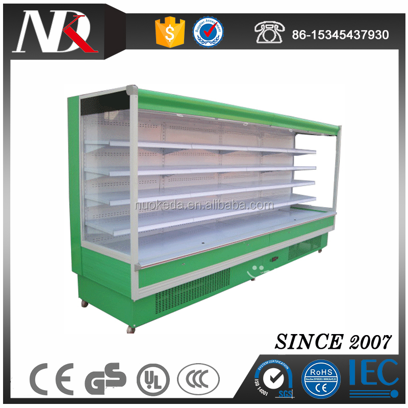 Auto-Defrosting Wind Curtain Display Case
