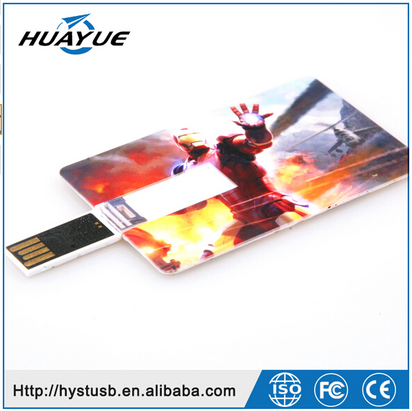 Promotional 2016 large quantity factory credit card shaped usb flash drive custom usb pen drive 4gb 8gb 16gb