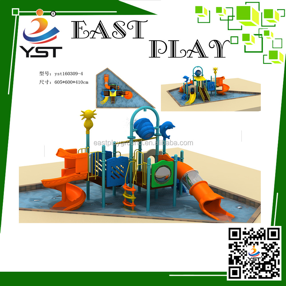 plastic playground water pool slide tube for sale