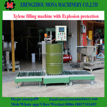 Semi Automatic Water Based Paint Weighing Filling Machine/paint bucket filling sealing machine