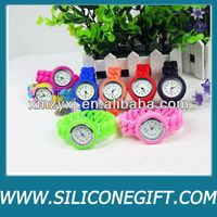 2014 Hot sale silicon watch