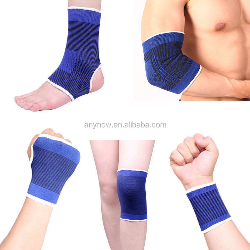 Knitted cotton ankle wrist elbow knee hand protector