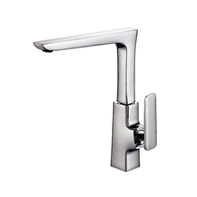 Fashion design single lever water saving centerset contemporary kitchen sink faucet