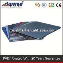 Exterior foamed aluminum panel