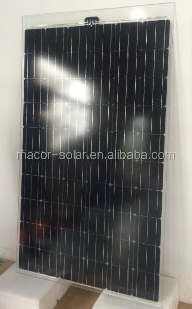 250w mono double glass solar panel,BIPV solar panel solar module
