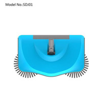 Multifunctional 360 degree manual floor sweeper with CE